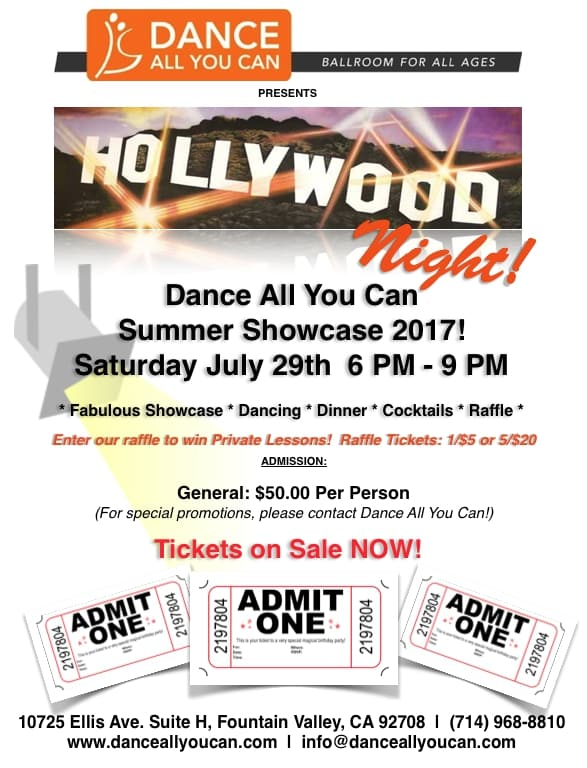 ballroom dancing show performance ballroom dancers party hollywood night fountain valley
