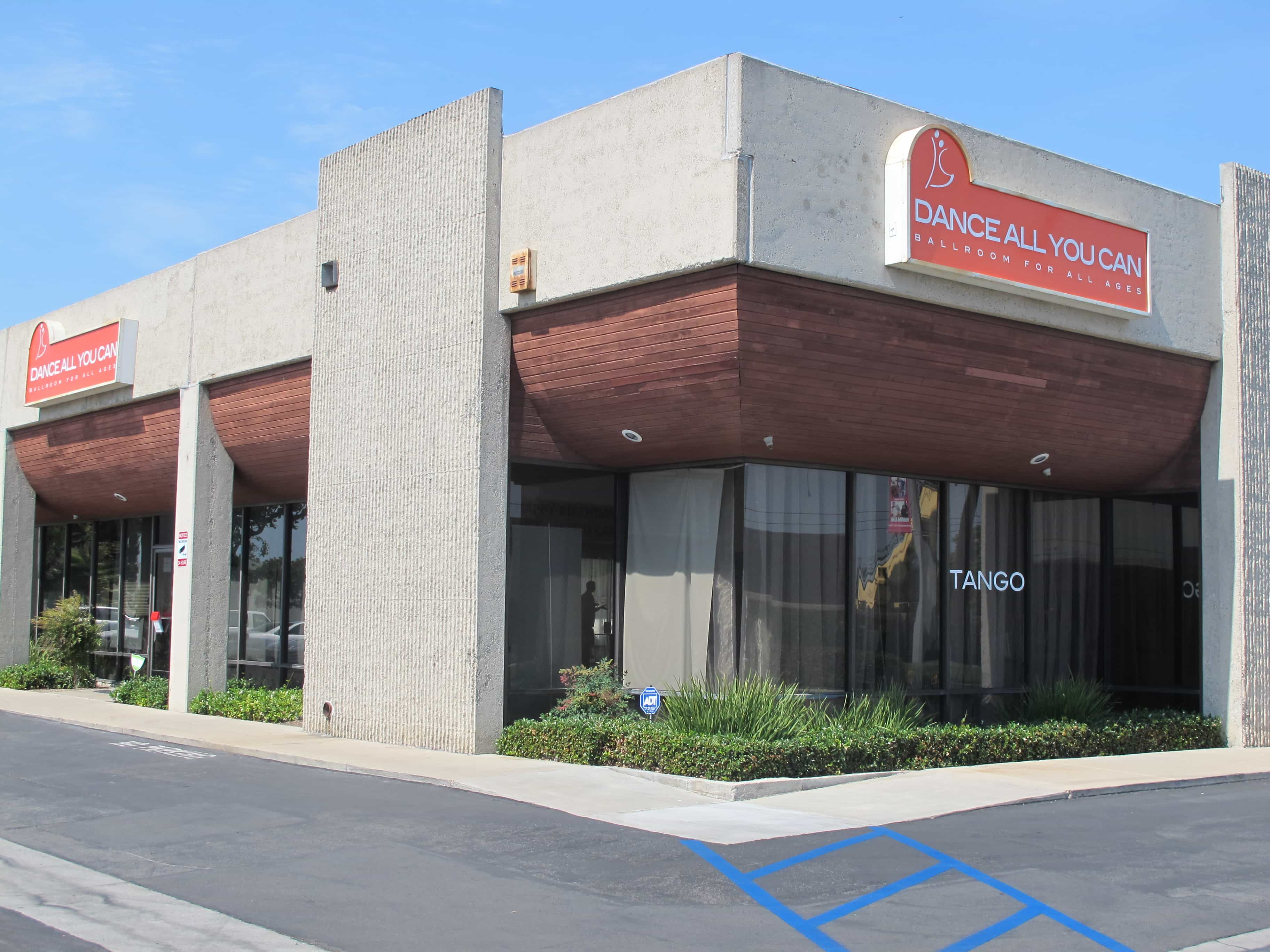picture of dance all you can studio exterior